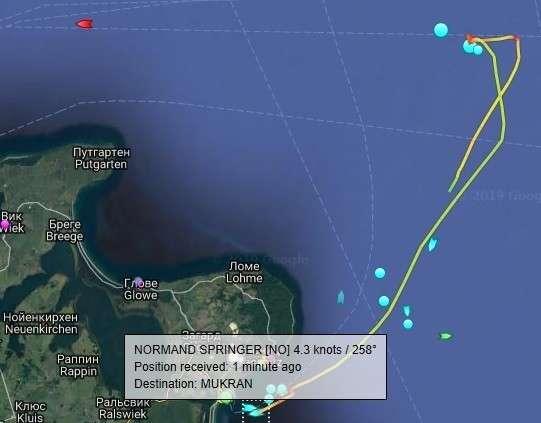 Трубоукладчики «Северного потока – 2» не ушли из Балтики: выгружают трубы