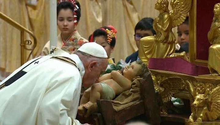 Католики всего мира отмечают Рождество но это обман