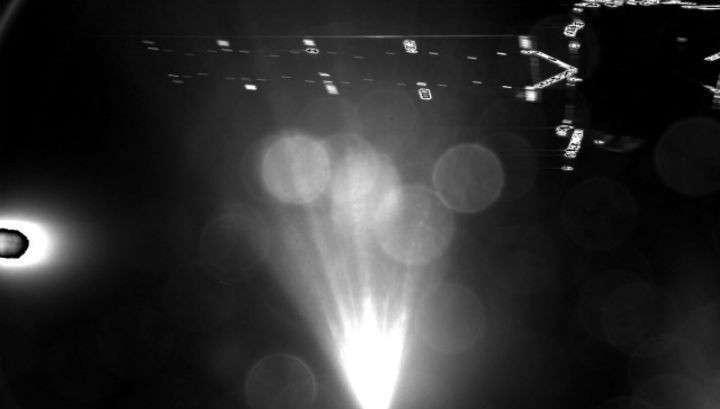 «Фила» отскочила от поверхности кометы несколько раз