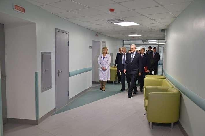 В Москве строят новые поликлиники