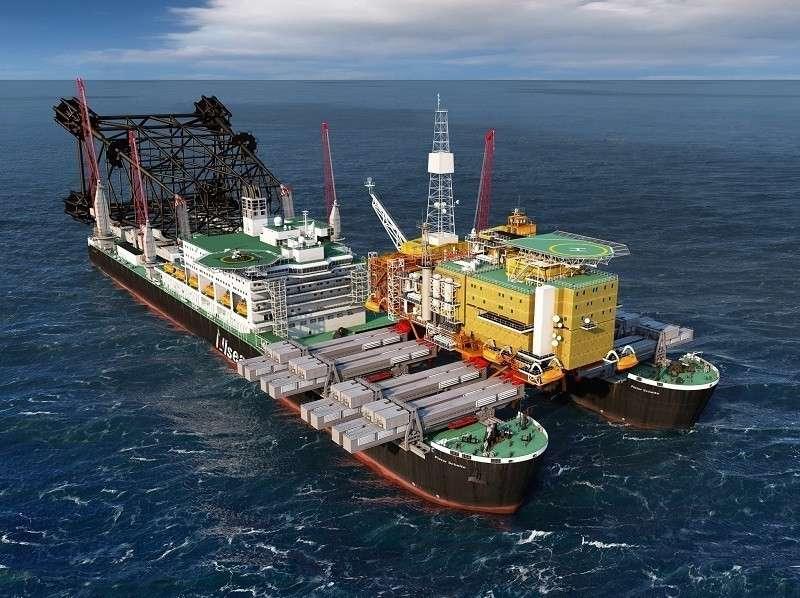 «Северный поток – 2» достроит корабль из Нигерии