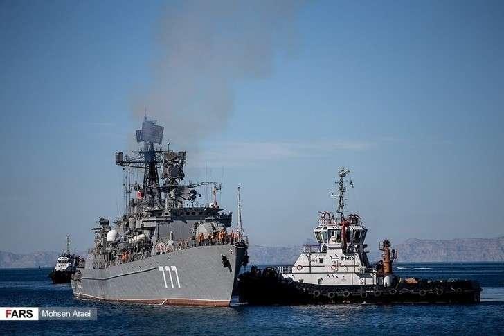 Стартовали совместные военно-морские учения Ирана, Китая и России