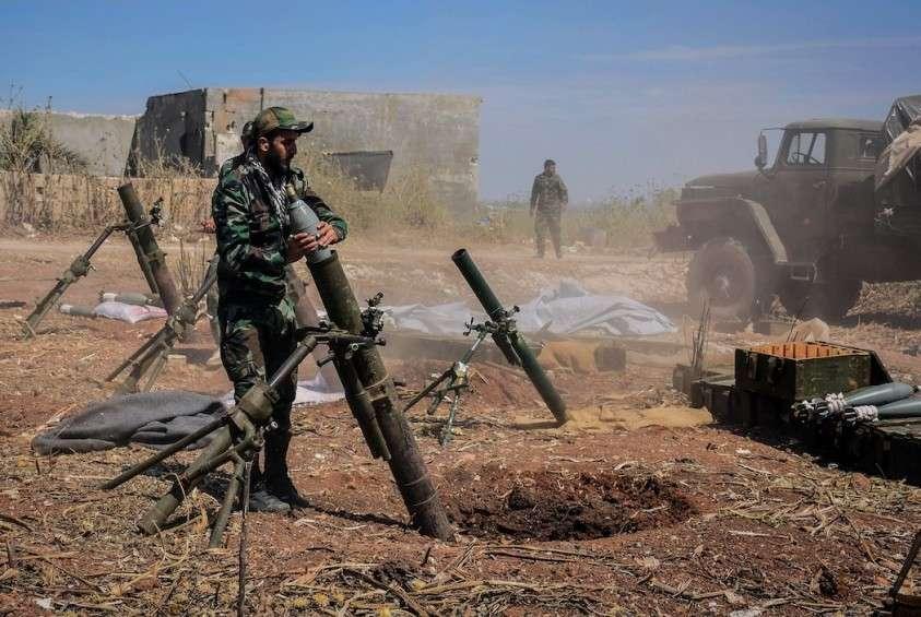 Сирия: части правительственной армии освобождают Идлиб
