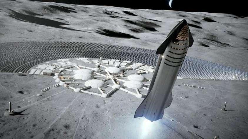 Илон Маск корабль компании SpaceX Starship