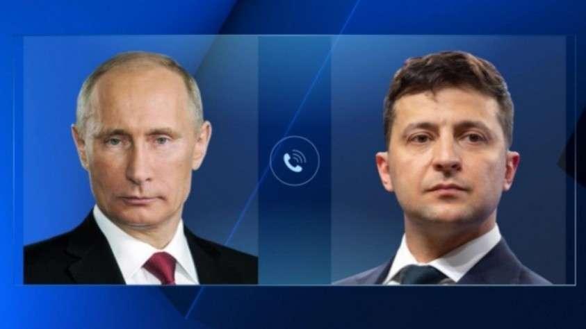Путин и Зеленский поздравили друг друга с Новым годом и высказались за развитие отношений
