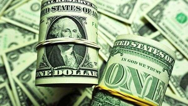 Банкноты номиналом 1 доллар США