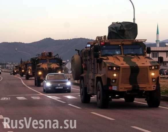 Турецкий Дед Мороз везёт смертоносные подарки умирающим боевикам в Сирии | Русская весна