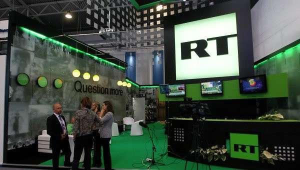 ТелекомпанияRT запустила свое первое новостное шоу нанемецком языке