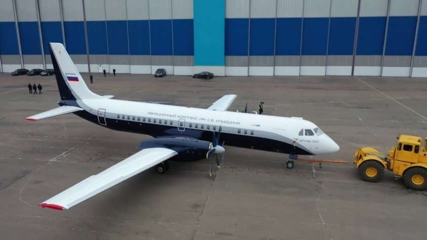 Первый образец Ил-114-300 получил уникальную ливрею
