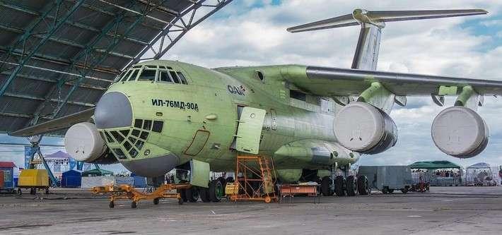 Новый транспортный самолет Ил-76МД-90А завершил летные испытания