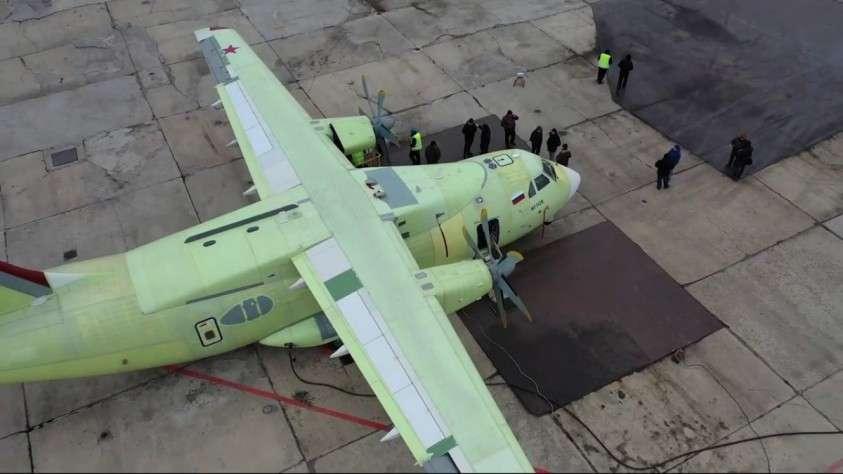 Началась отработка систем нового военно-транспортного самолёта Ил-112В в рамках заводских испытаний