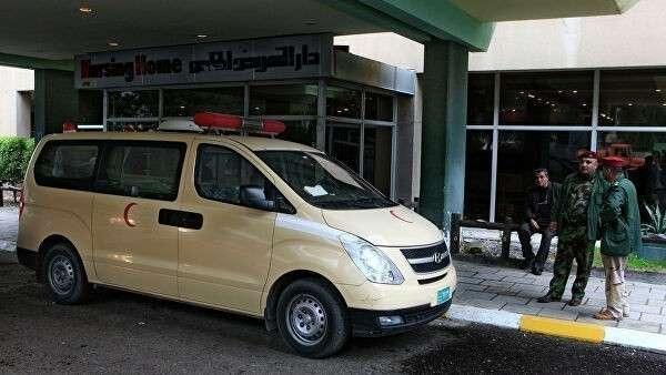 Кареты скорой помощи в Ираке