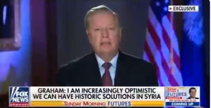 Официальный представитель режима Трампа объяснил, что американские военные в Сирии