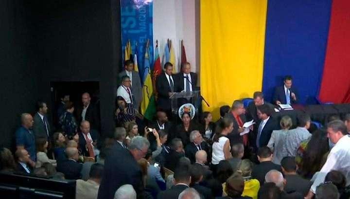 Оппозиция Венесуэлы в своём кружке вновь назначила Гуайдо главой парламента