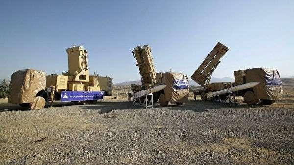 Зенитно-ракетные комплексы Хордад-15 Вооруженных сил Ирана