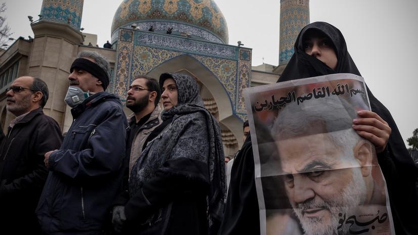 США направили стратегические бомбардировщики ближе к Ирану