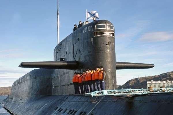 ядерная атомная подводная лодка