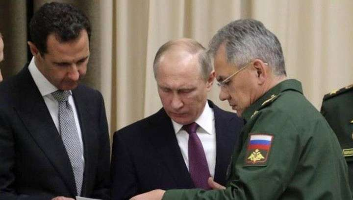 Владимир Путин в Дамаске провел переговоры с Башаром Асадом