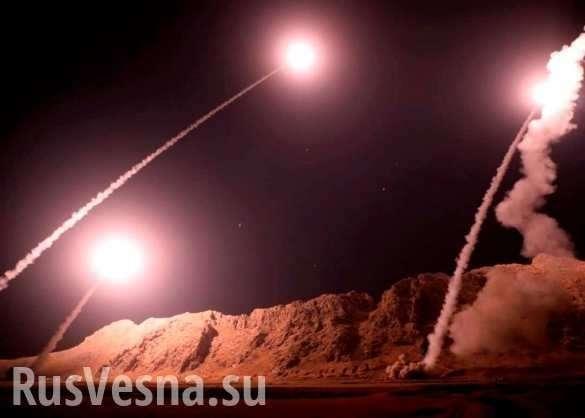 Иран нанёс массированный ракетный удар по базам США   Русская весна