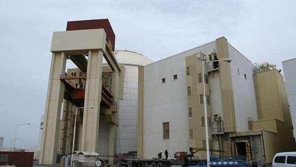 Атомная электростанция в Бушер (Иран)