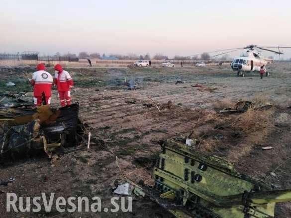 Крушение украинского «Боинга» в Иране: названа причина катастрофы | Русская весна