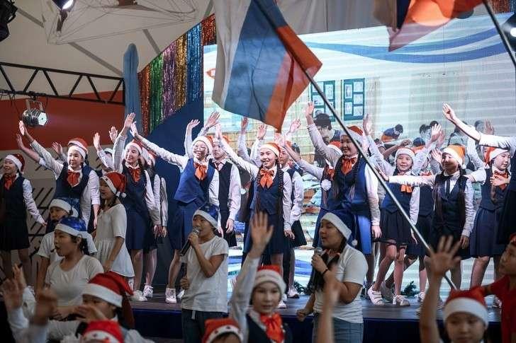 В селе Хара Якутии открыта новая школа на 220 мест