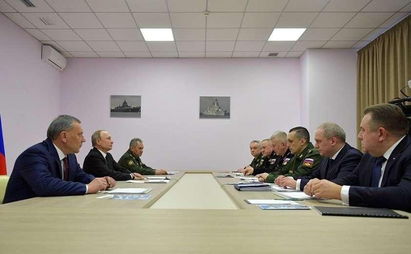 Совещание по вопросам перспективного развития Военно-Морского Флота.