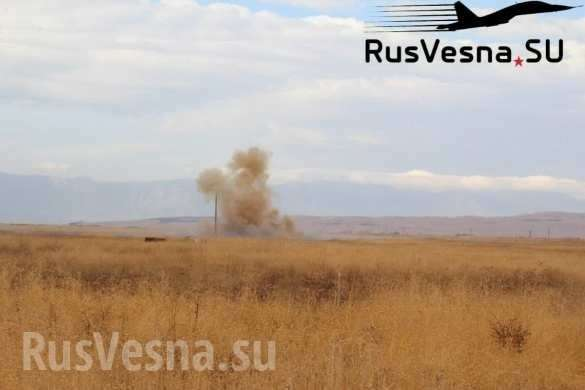 Армия России открыла ворота в Идлиб, боевики пытаются закрыть их огнём   Русская весна