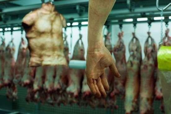 Магазин человеческого мяса в Лондоне