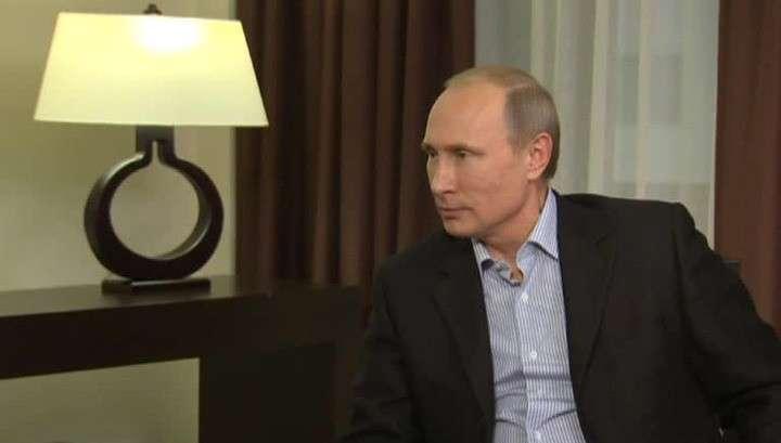 Владимир Путин: санкции мешают обеим сторонам и противоречат международному праву