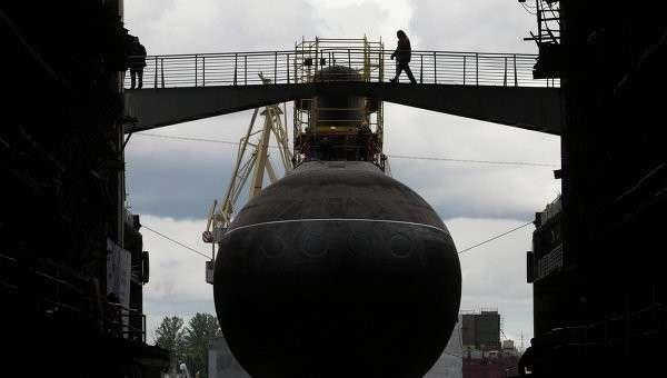 Дизель-электрической подводная лодка Ростов-на-Дону, архивное фото