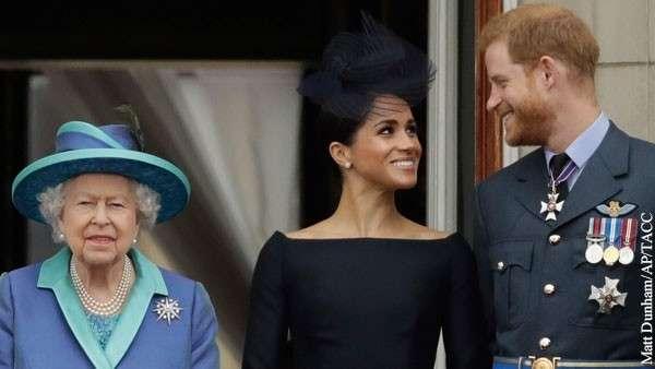 Сын принцессы Дианы ушел из королевской семьи из-за стервозности жены