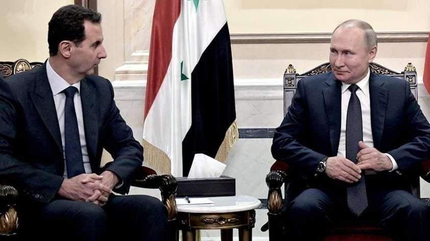 Путин посоветовал Асаду пригласить Трампа в Дамаск и пообещал передать приглашение лично Трампу