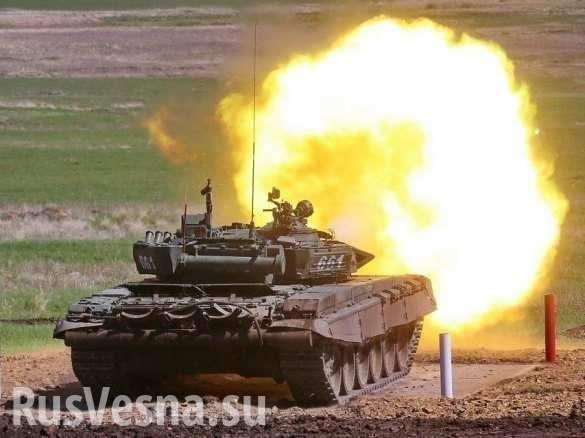 «Неуязвимый Т-72»: ракета ударила по танку в Сирии, результат сильно расстроил стрелков | Русская весна
