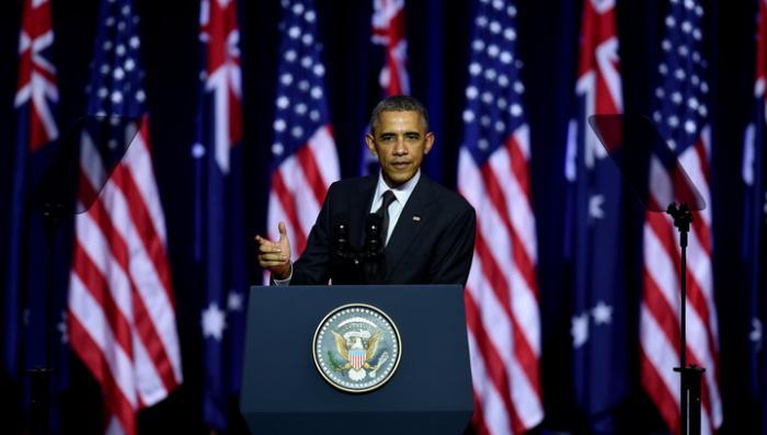 Обама считает, что действия России на Украине угрожают миру