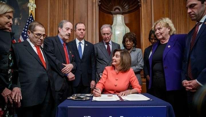 Дело об импичменте Трампа наконец-то передано из конгресса в Сенат
