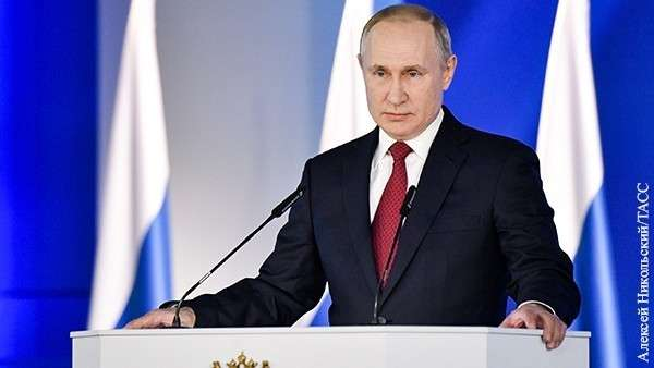 Послание 2020. Величие России оказалось в силе и достоинстве