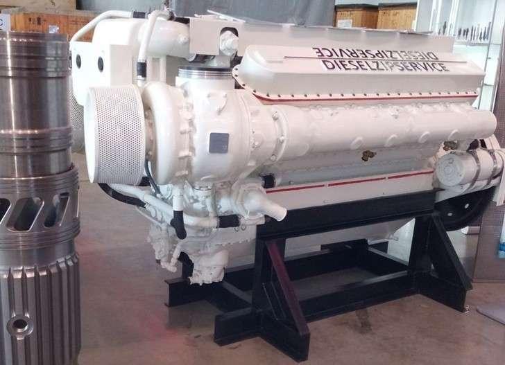 «Дизельзипсервис» освоил серийное производство судовых дизельных двигателей типа М400Д и М401Д