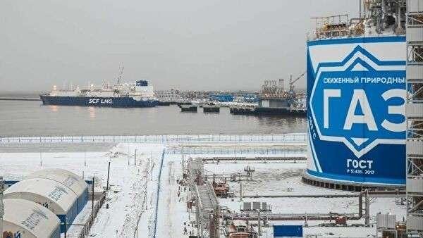 Хранилище сжиженного природного газа в порту Сабетта
