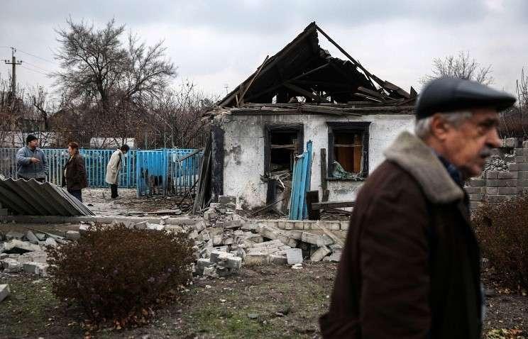 Президент Украины Порошенко-Вальцман безжалостно продолжает геноцид населения ЛНР и ДНР