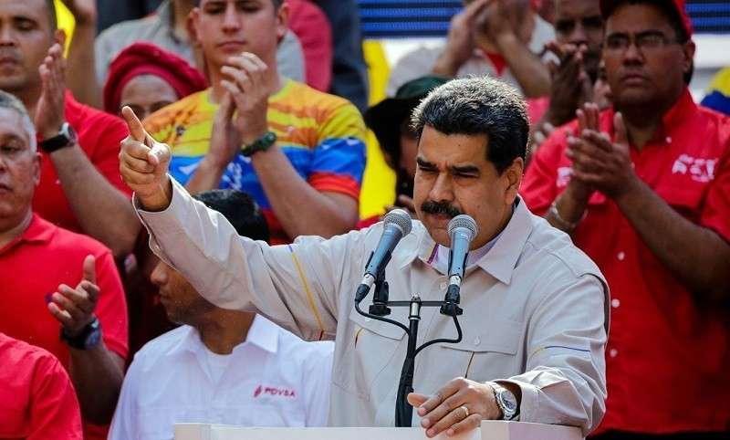 В годовщину начала протестов Мадуро поиздевался над Трампом и Помпео
