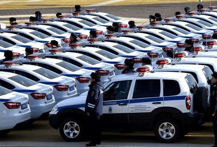 Ставропольская полиция получила 222 новых отечественных автомобиля