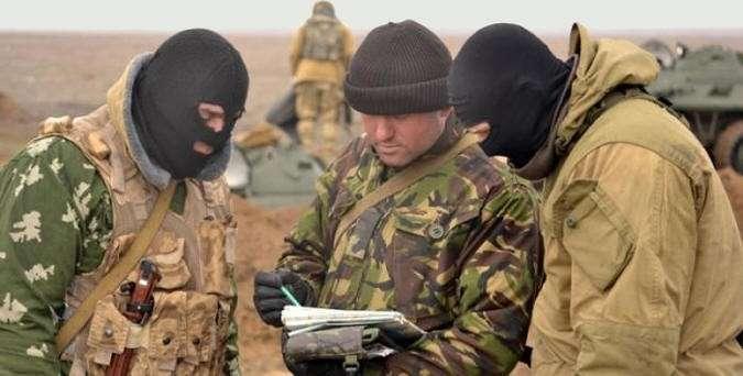 Русские десантники отбили у СБУ главу мятежного сельсовета