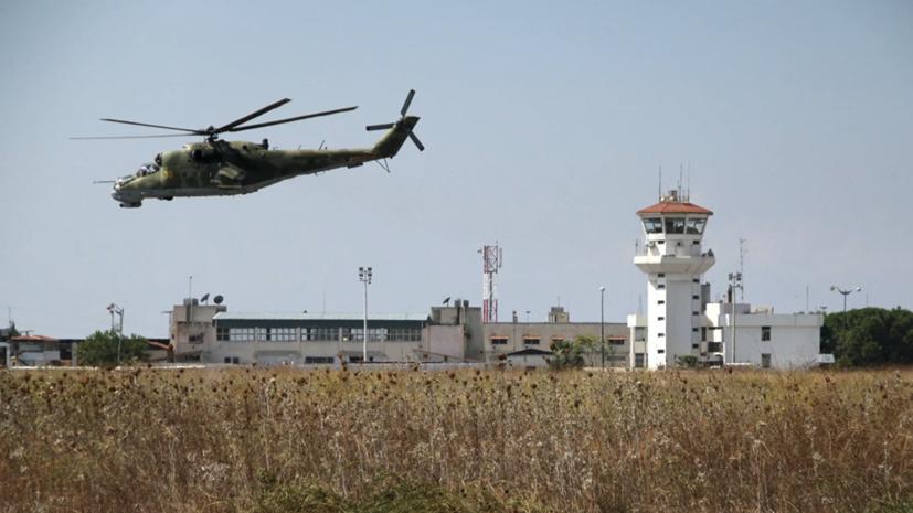 Ударные дроны попытались атаковать авиабазу ВКС России в Сирии