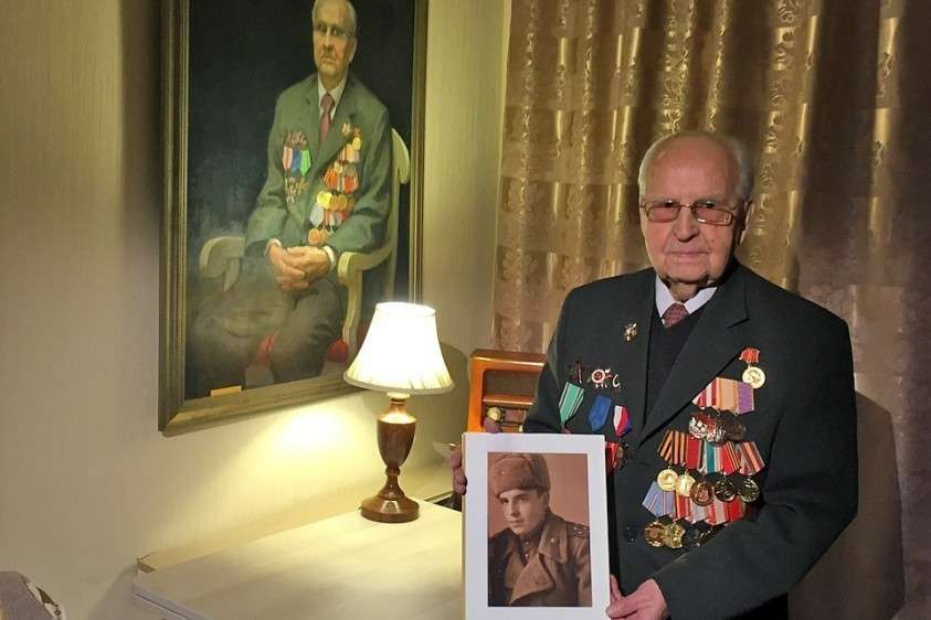18 января Ивану Степановичу Мартынушкину исполнилось 96 лет. Фото: Елена ЧИНКОВА