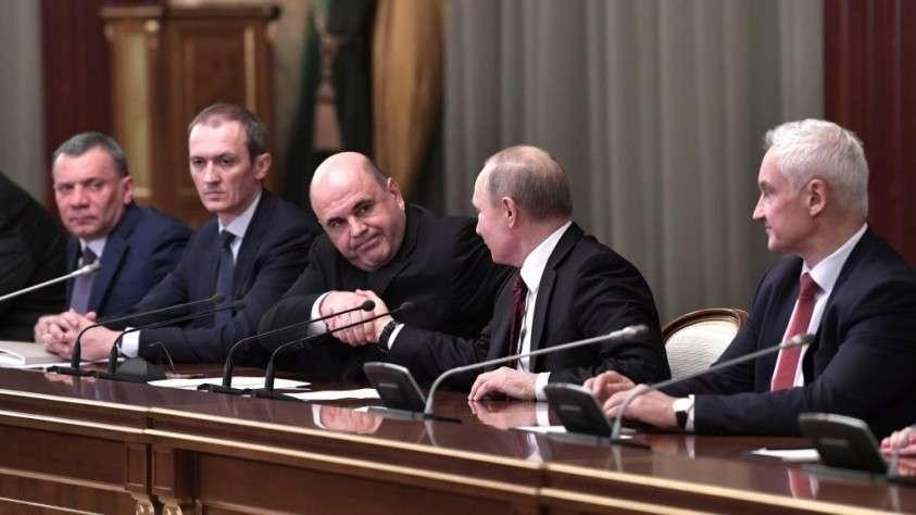 В правительство Росии добавили людей из надзора и контроля