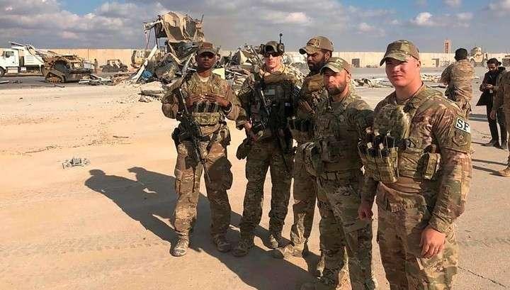 При атаке на военные базы США в Ираке пострадали больше 11 американских солдат