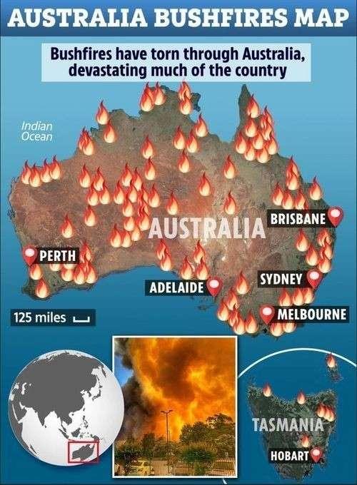 Добыча газа методом фрекинга подожгла Австралию