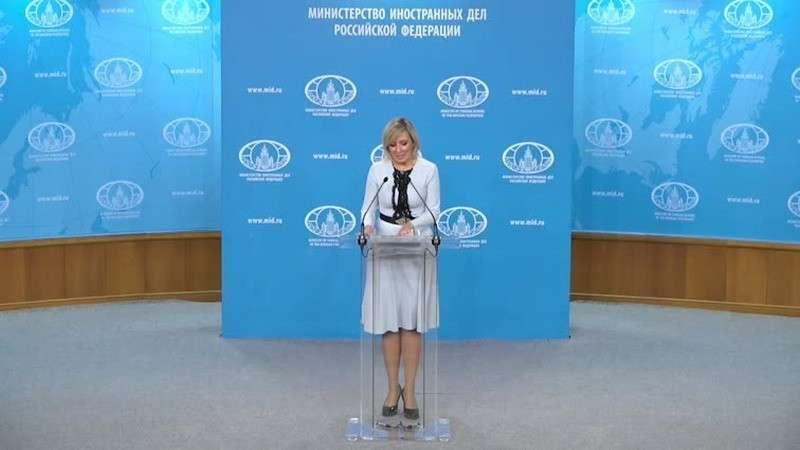 Мария Захарова провела еженедельный брифинг МИД России 23.01.2020