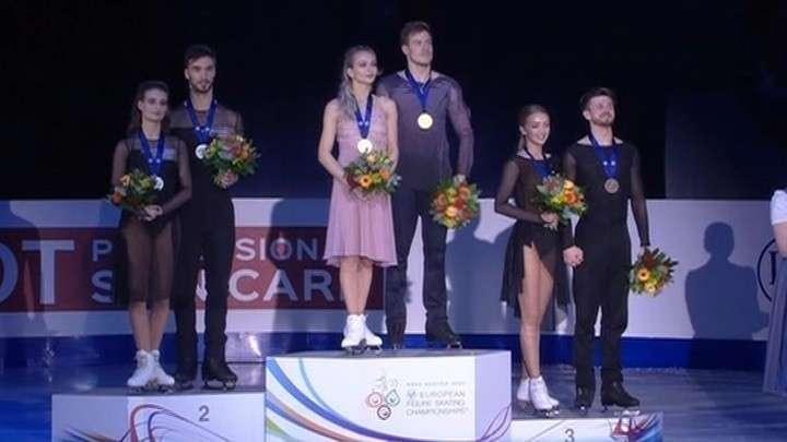 Германия: русские фигуристы завоевали 10 медалей из 12 возможных на ЧЕ